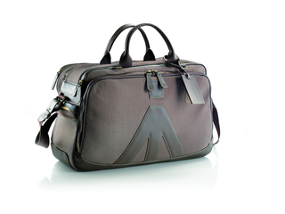 Lino Manfrotto limited edition Messenger bag natural vintage