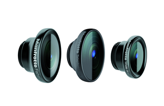 Set of 3 lenses (fisheye, portrait 1.5X,wideangle)