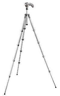 Compact Series tripod with built-in photo/movie head - grey