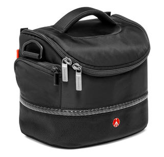 SHOULDER BAG V ; SAC D'EPAULE P/ REFLEX DOUBLE KIT