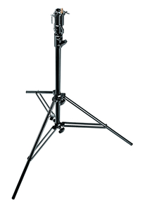 2 Section Black Alu Cine Stand w/Leveling Leg-Air Cushions