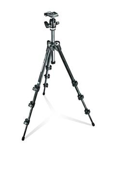 293 Carbon Fiber Kit, Tripod 4 sections with Ball Head QR