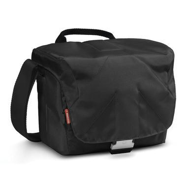Bella V Shoulder Bag Black