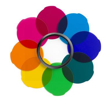 Lumie Series Multicolor filter kit for unique shots