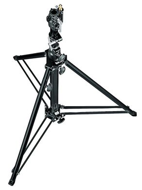 Black Follow Spot Stand w/Leveling Leg (Special Order Only)