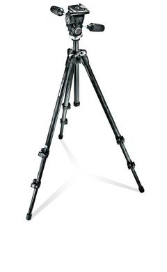 294 kit, 3-section carbon tripod + quick-release 3-way head