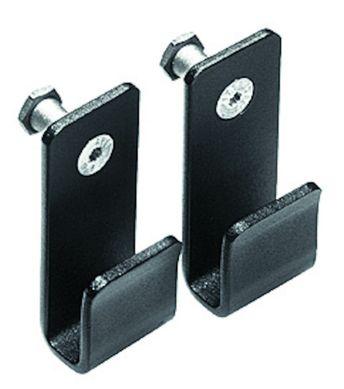 Set of 2 Narrow U-Hook Glass Holders