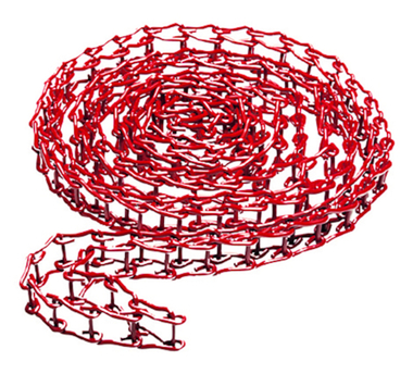 Expan Metal Red Chain