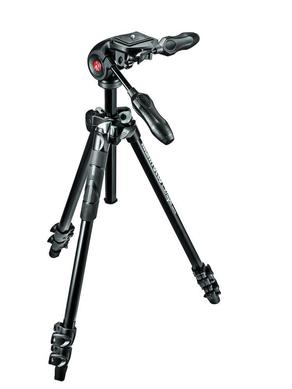 290 LIGHT Kit, Alu 3 sec.  tripod with foldable 3W head