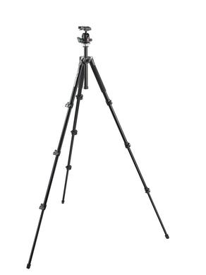 ALU TRIPOD BLK WITH BALL HEAD
