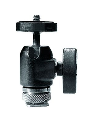 Micro Ball Head with Hot Shoe Mount