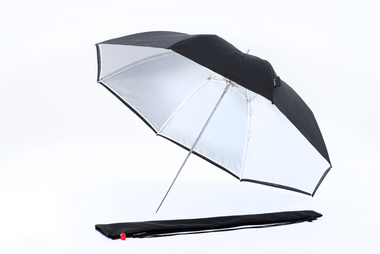 Duo Umbrella  80cm black/white