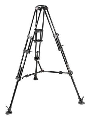 545B Pro Alu Video Tripod 100/75mm Bowl 2 Stage Tandem Leg