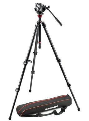 Lightweight fluid video system / carbon legs / MDeVe