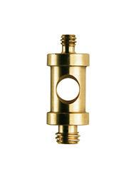 Short 16mm Spigot with 1/4'' and 3/8'' screw