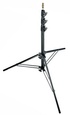 Black Aluminium Air Cushioned Light Stand