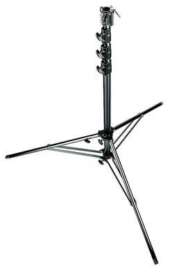 Black Aluminium 4-Sections Super Stand 1 Levelling Leg