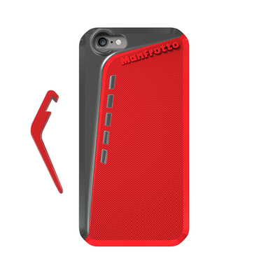 Red Case for iPhone 6 + kickstand