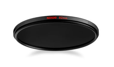 Circular ND500 lens filter with 9 stop of light loss 82mm