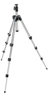 393 Short Aluminum Tripod with Ball Head, Non-QR