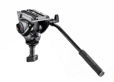 Lightweight fluid video head - 60mm half ball (5kg payload)
