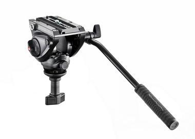 Fluid-Videoneiger, kompakt, 60mm Halbschale (belastbar 5kg)