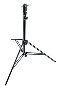 2-Section Black Alu Cine Stand with Leveling Leg
