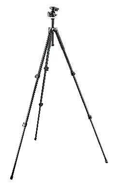 293 Aluminum 3 Section Tripod with QR Ball Head