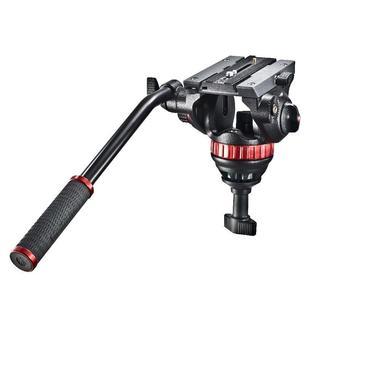 Pro Fluid Video-Neiger mit 75mm Halbkugel und 504PL