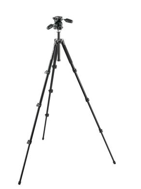 ALU TRIPOD BLK WITH 3W HEAD