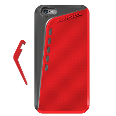 Red Case for iPhone 6 Plus + kickstand