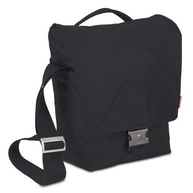 ALLEGRA 10 Messenger-Tasche (Schwarz) STILE+