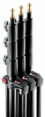 3-Pack Black Alu Master Stand AC 12' 4 Sect. 3 Risers