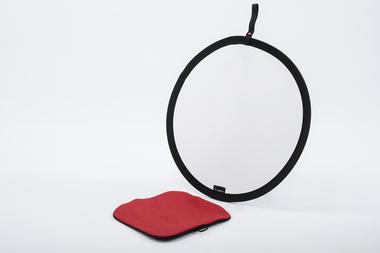 Circular Panel Reflector 60cm silver/white