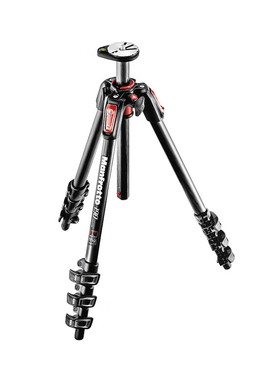 190 Carbon Tripod 4 sections with horizontal column