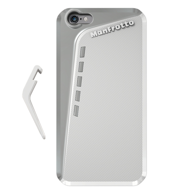 White Case for iPhone 6 Plus + kickstand