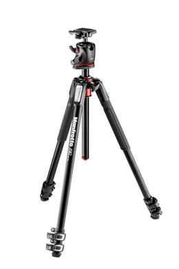 190 Alu 3 Sec Tripod with XPRO Ball Head + 200PL plate