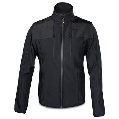 Pro Soft Shell Jacke Mann XL/schwarz