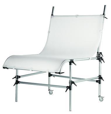 Still Life Table w/White Translucent Plexiglass-78.8''X49.25''