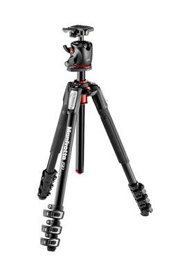 190 Alu 4 Sec Tripod with XPRO Ball Head + 200PL plate