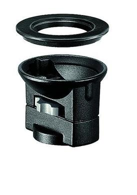 325N Video Head Adapter Bowl, Connects 75mm or 100mm