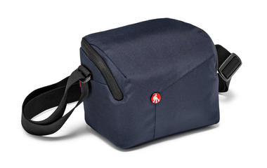 Blue Shoulder Bag for CSC with additional lens