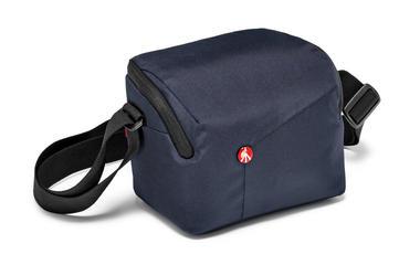 Blue Shoulder Bag for CSC with additional lens