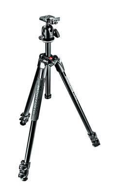 290 XTRA Kit, Alu 3 sec.  tripod with ball head