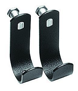 U' Hooks set of two cross bar holders 40mm