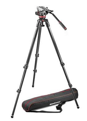 Professional fluid video system/ carbon / single legs