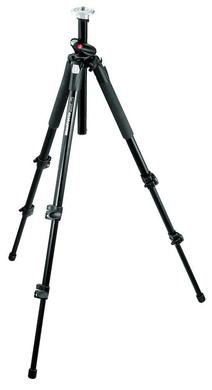 Professional Aluminum Tripod without Head - Black