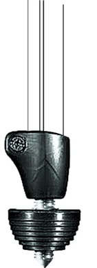 Stainless Steel Rubber Spike Foot