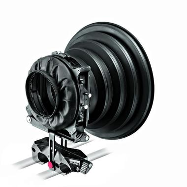 SYMPLA Flexible Mattebox, two 4x4'' holders and rubber hood