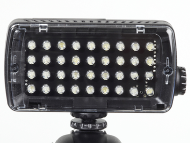 LED Light - Midi-36 Hybrid (420lx@1m), Dimmer, 4x Flash
